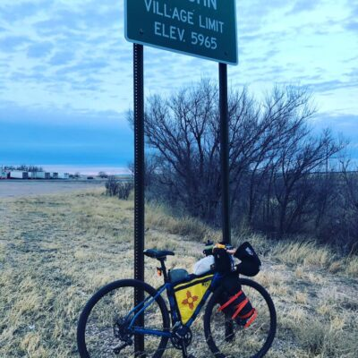 Day 5 -- Rubio's Ride, Roswell to Vaughn